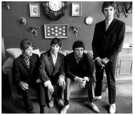 Small Faces, group portrait at office