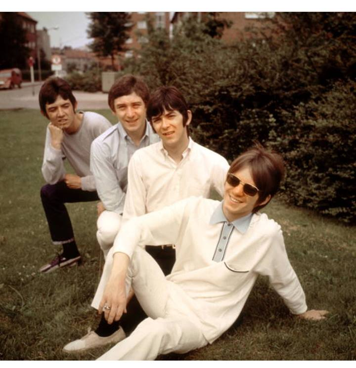 Small Faces, group portrait outdoors