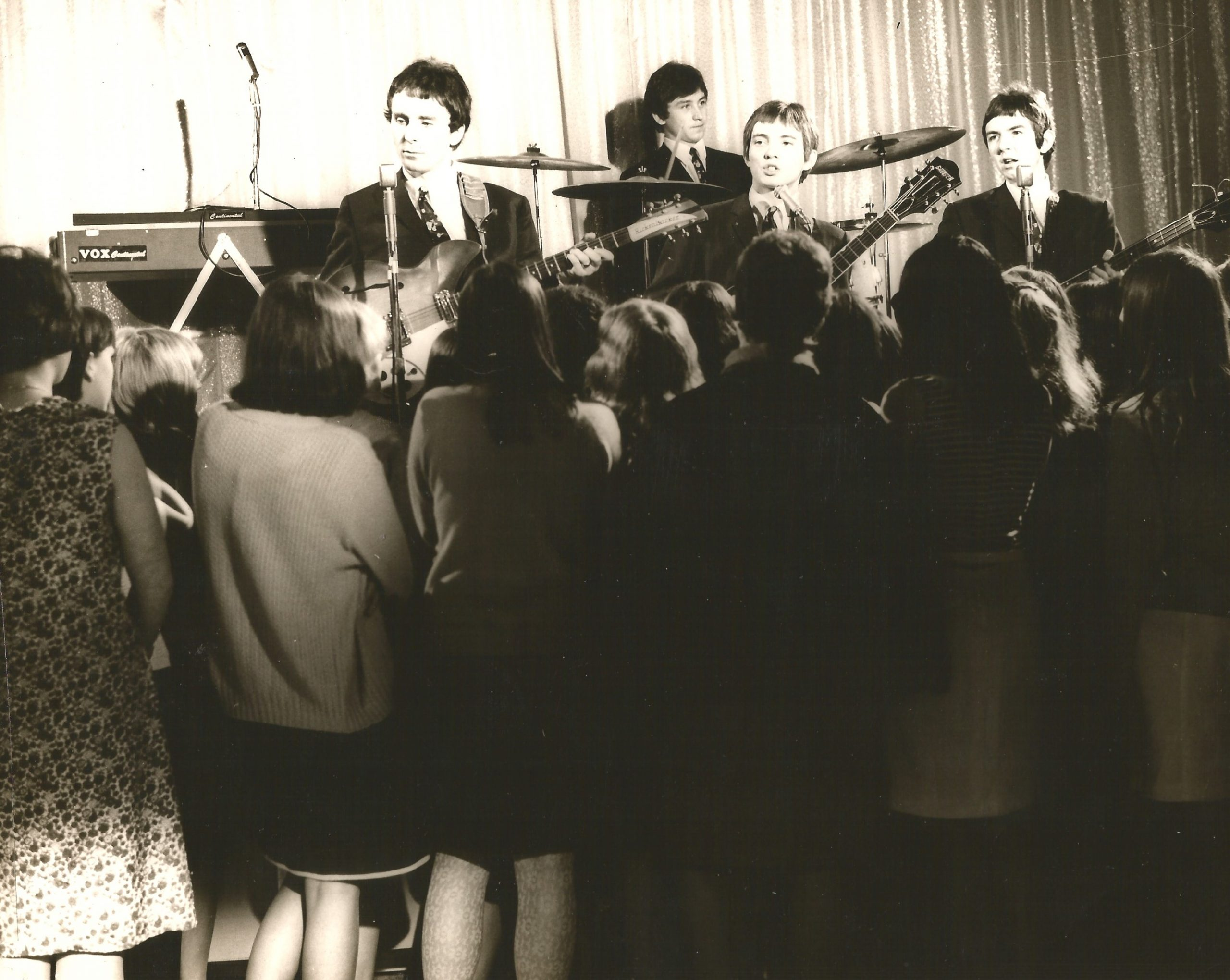 The Small Faces, including Jimmy WInston, in a still from Dateline Diamonds