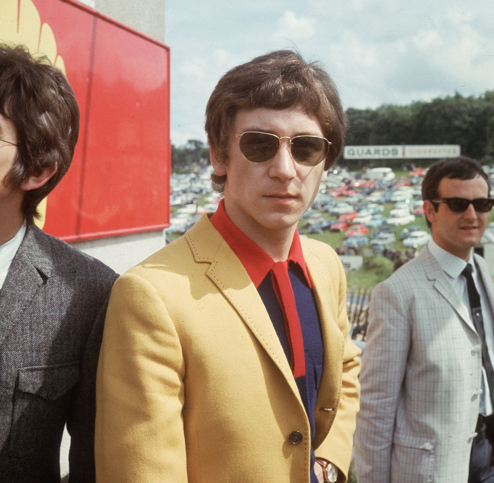 KENNEY-JONES---AT-PIRATE-RADIO-STATION-BRANDS-HATCH,-KENT-1970