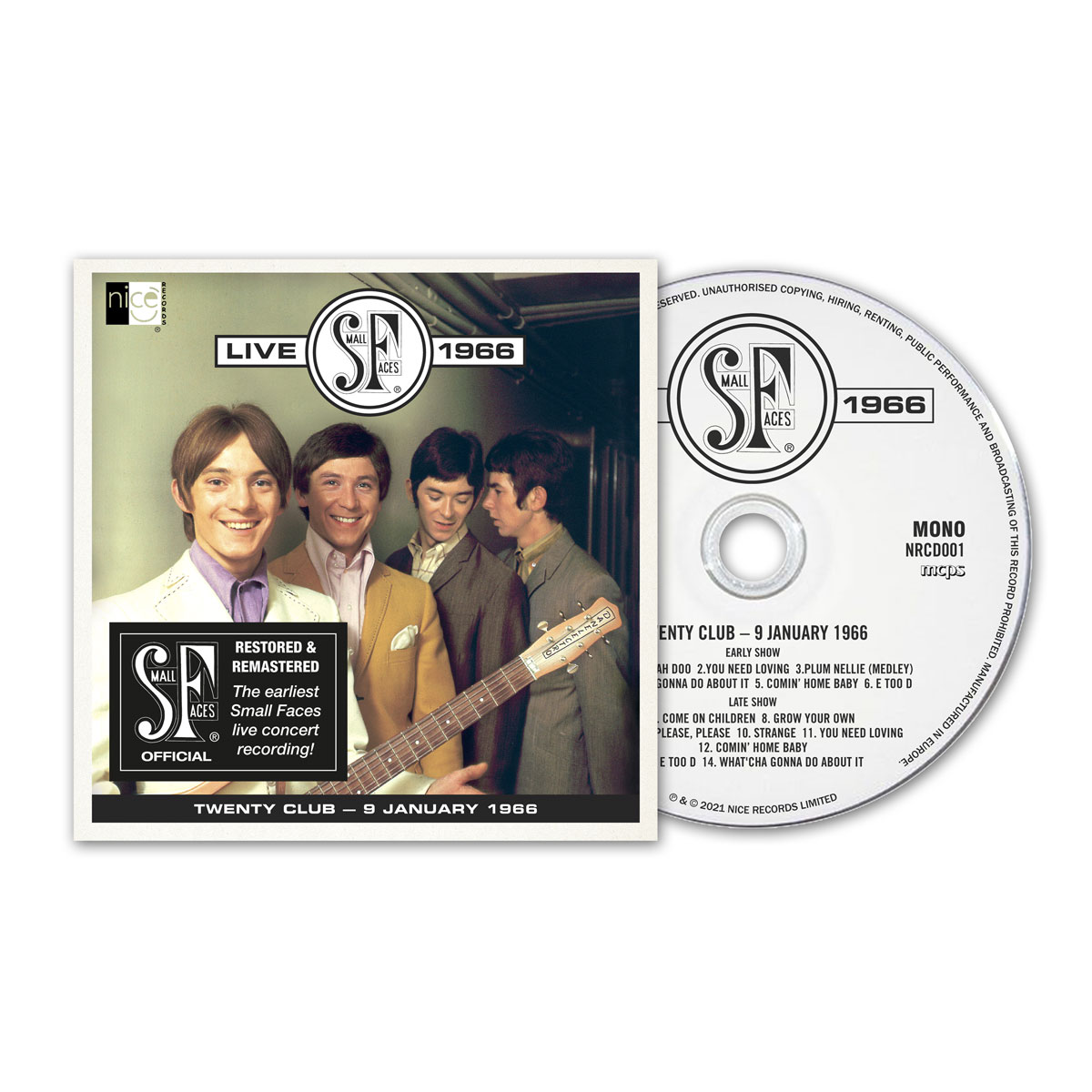 Small Faces Live 1966 - CD edition