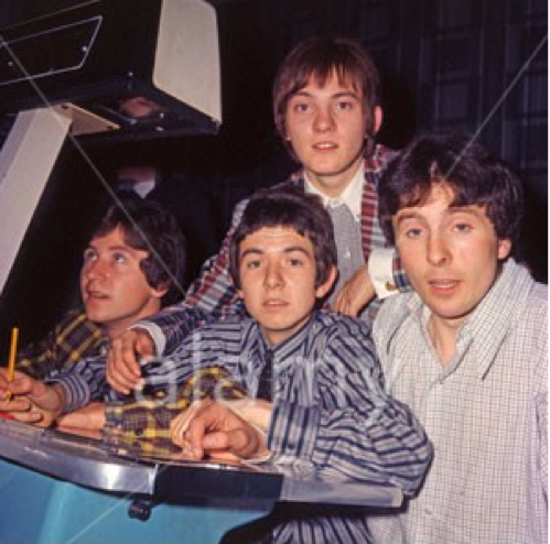 The Small Faces, including Jimmy Winston, 1965