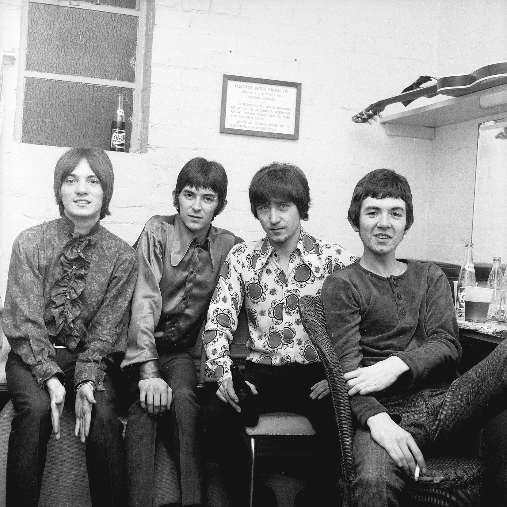 SMALL FACES - LARGE B&W PHOTO