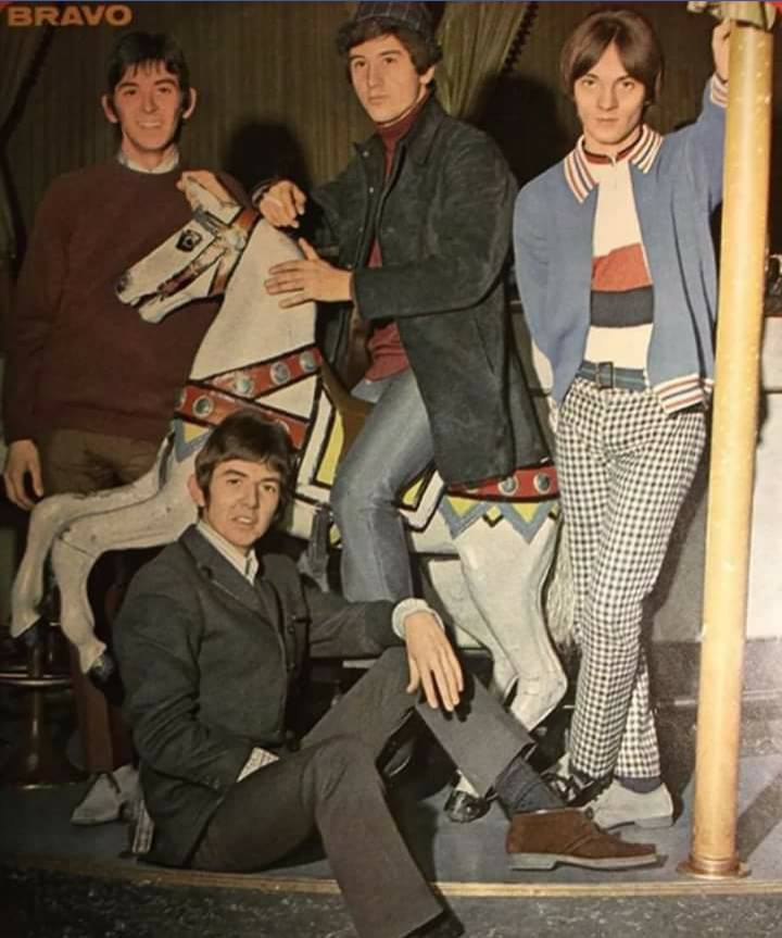 Small Faces carousel group portrait