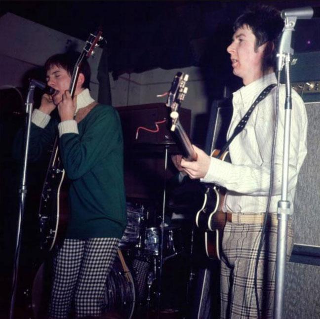 Steve Marriott, Ronnie Lane - Small Faces live performance