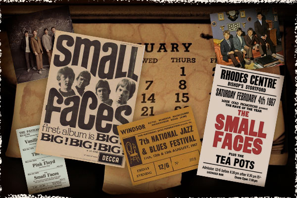 The Small Faces Timeline